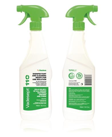 VADESEPT 110 - Trigger sredstvo za dezinfekciju i čišćenje